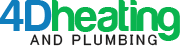4D Heating and Plumbing Logo
